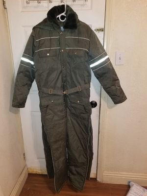 Sears work leisure Hood belted snowmobile snow suit coveralls men's 40 short for Sale in San Bernardino, CA