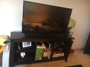 Espresso TV stand for Sale in Gaithersburg, MD