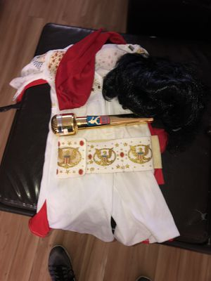 Toddler 12-24 months Elvis costume with toddler wig for Sale in Piedmont, SC