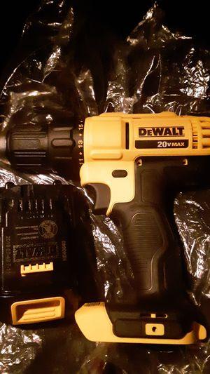 20 volt DeWalt drill for Sale in Clarksburg, WV