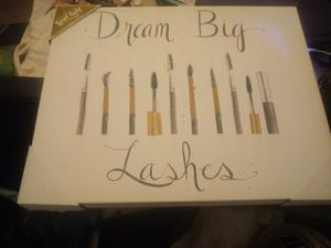 """""""lashes"""" canvas wall decor for Sale in Middle River, MD"""