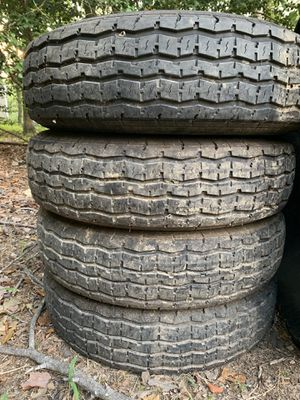 4 Westlake trailer tires about 10k miles on them. for Sale in Richmond, VA
