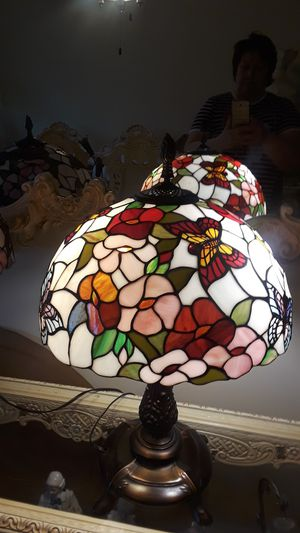 Tiffany style staind glass lamps for Sale in Hinsdale, IL