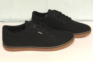 *NEW* VANS Women's Black Canvas Sneakers Size 9 for Sale in Medford Lakes, NJ