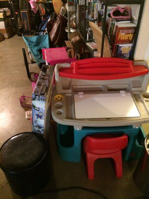 Kids desk. To $35 running store $40 golf clubs press profile picture to see lots more seven for Sale in Saint Peters, MO