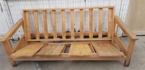 FREE! Wooden futon frame for Sale in Sunnyvale, CA