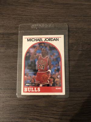 Jordan vintage collectible hoops card for Sale in Los Angeles, CA