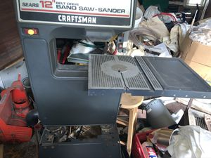 Craftsman sears band saw sander 12 belt drive for Sale in Tiverton, RI