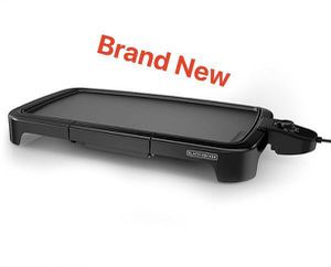 Griddle Electric Kitchen Plancha Parrilla 50x28cm Black &Decker GD2011B for Sale in Doral, FL