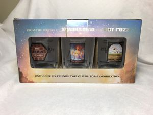 The World's End Pint Glasses, collectible, whole set for Sale in El Cajon, CA