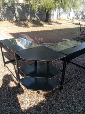 L-shaped corner computer desk for Sale in Phoenix, AZ