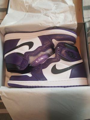 New Jordan 1 Retro High Court Purple size 9.5 for Sale in Philadelphia, PA