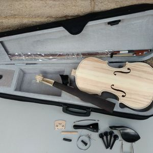 Stradivarius Violin Kit DIY Top Quality Parts W/Case/Bow for Sale in Pleasanton, CA