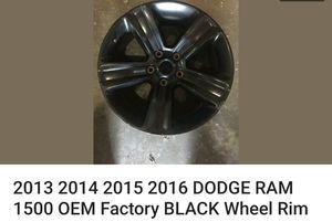 """2015 DODGE RAM 1500 black wheel Rim 20 """" for Sale in Nashville, TN"""