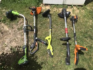 Electric and battery operated Trimmers and edgers for Sale in Reynoldsburg, OH