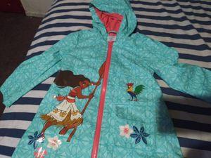 Disney moana raincoat size 3 for Sale in Downey, CA