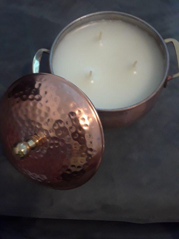Owen Allen Copper Pot Candle