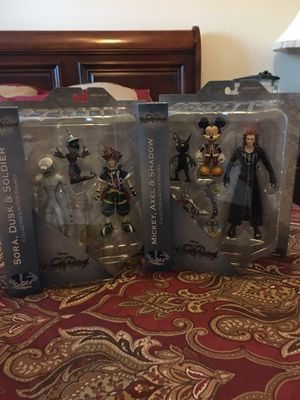 Kingdom Hearts Collector's Action Figures for Sale in Woodbridge, VA