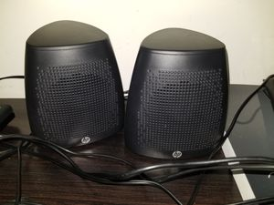 Hp desktop speakers for Sale in Chevy Chase, MD