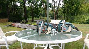 2 Homelite XL-12 Chain Saws for Sale in Duxbury, MA