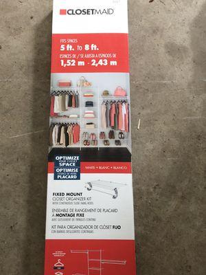 Closetmaid Fixed Mount Organizer Kit for Sale in Bridgewater, MA