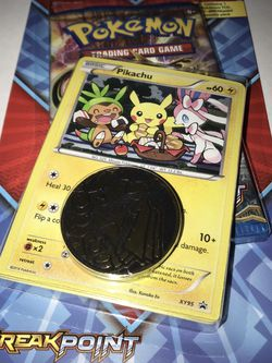 Pokemon XY Breakpoint Blister Pack Pikachu Promo for Sale in Deer Park,  TX