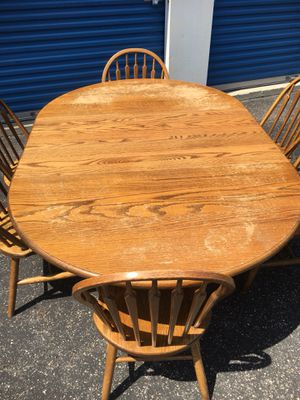 Amish made Dining/Dinner Table and Chairs for Sale in Upper Arlington, OH