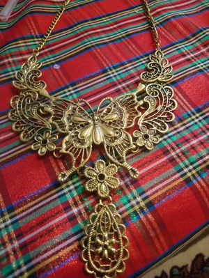 Beautiful butterfly necklace set for Sale in Arlington, VA