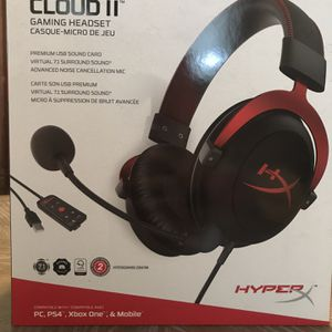 HyperX Cloud II Gaming Headset for Sale in Jefferson City, MO