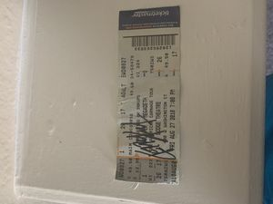 Kerry King signed Slayer Ticket Stub for Sale in Chandler, AZ