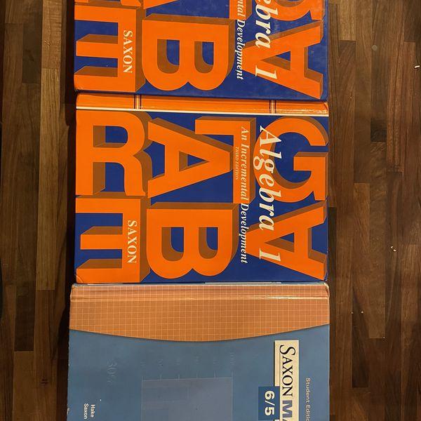 Saxon Math Books