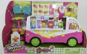 Shopkins - Food Fair: Scoops Ice Cream Truck and Original Accessories for Sale in Marietta, GA