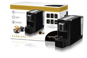 Like new Espressotoria system with pods - single cup coffee maker for Sale in Indianapolis, IN