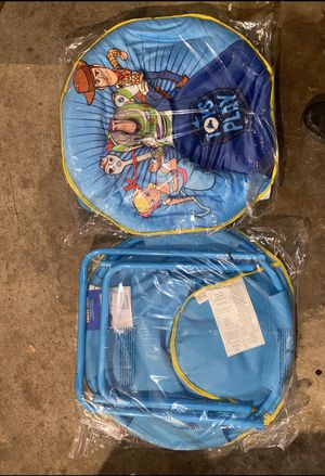 Toy Story Kids Foldable Chairs (Set of two) for Sale in Dearborn, MI