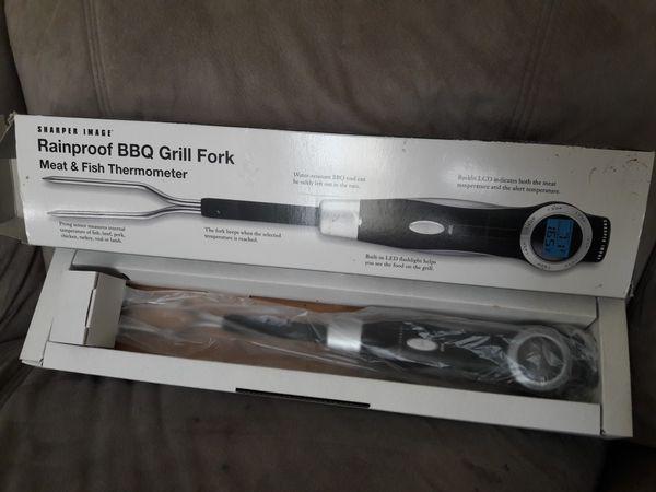 Rainproof BBQ Grill Fork