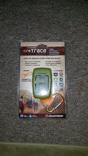 ReTrace personal GPS navigator. for Sale in Denver, CO