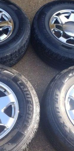17 X 9 Chrome Cadillac Escalade Wheels 6 Lug for Sale in Hurst,  TX