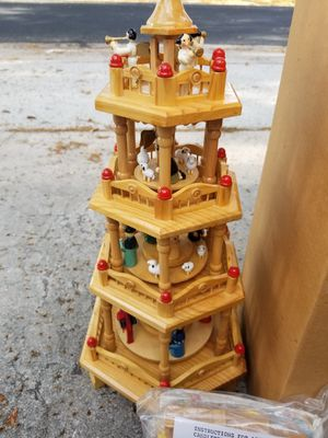 Wooden imported Candle Tower NEW IN BOX for Sale in Orlando, FL