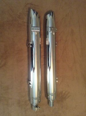 Indian/Polaris 1262383-156 Motorcycle Set Of 2 Exhaust Kit. OEM Original. for Sale in Greensboro, NC