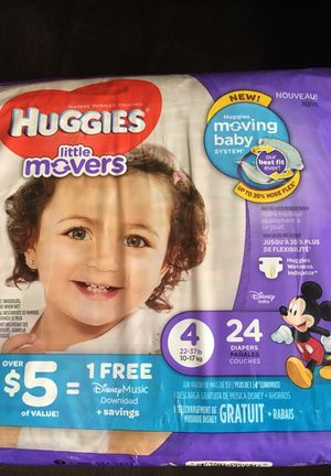 Huggies Little Movers Diapers for Sale in Syracuse, UT