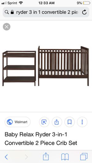Crib/changing table/ pad / mattress for Sale in Austin, TX