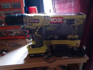 Ryobi 12v cordless drill with charger and bit for Sale in Abilene, TX