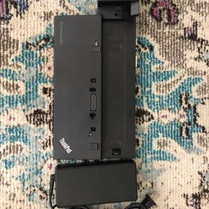 Lenovo~Laptop~Docking~Station~Power~Included for Sale in West Palm Beach, FL