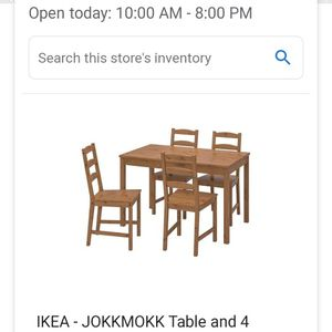 LIGHTLY USED IKEA TABLE AND CHAIRS for Sale in Schiller Park, IL