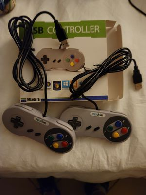 Snes usb controllers BRAND NEW never used for Sale in Hallandale Beach, FL