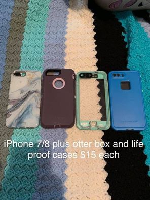 iPhone XS Max and iPhone 7/8 plus cases for Sale in Apollo, PA