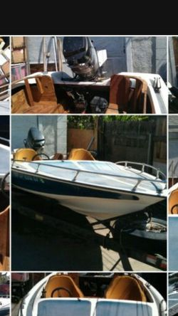 1978 Witchcraft boat. (17 ft.) With Trailer for Sale in San Dimas,  CA