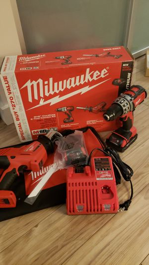 M18 drill/hackzall combo kit for Sale in Seattle, WA
