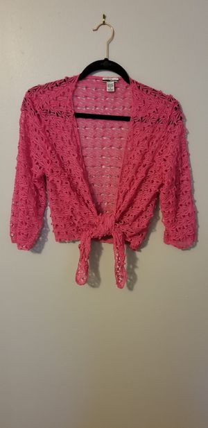 Mirror Image hot pink balero size M for Sale in Tampa, FL