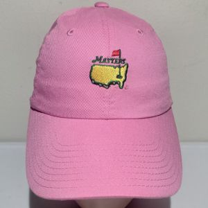 The Masters Pink Strapback Adjustable Hat Golf Cap Magnolia Lane for Sale in West Columbia, SC